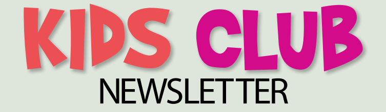 Kids Club Letters